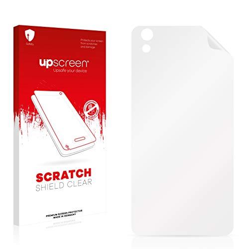 upscreen Schutzfolie kompatibel mit Medion Life X5004 (MD 99238) (Rückseite) – Kristallklar, Kratzschutz, Anti-Fingerprint