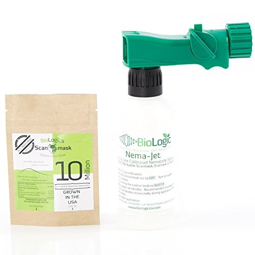 BioLogic Scanmask Beneficial Nematodes, Steinernema feltiae Sf Nematodes for Natural Insect Pest Control (10 Million)