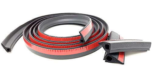 ESI Ultimate Tailgate Seal with Taper Seal Compatible with 2020 and Newer Silverado 1500 and Sierra 1500
