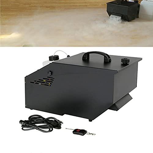 Low-Lying Smoke Machine DMX Fog Machine Stage Fogger 1200W with wireless remote
