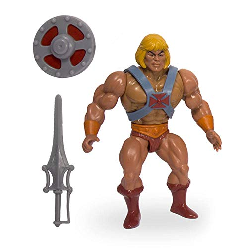 Super7 Figura He-Man Japanese Box 14 cm. Masters del Universo. Exclusiva. Motu Vintage Collection. Wave 4