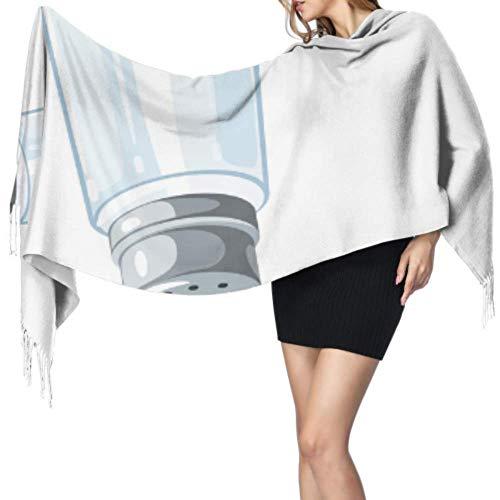 An Green Schals Für Damen Mit Salt Shaker Kochwerkzeugen Herbst und Winter Warmer Schal warme Decke