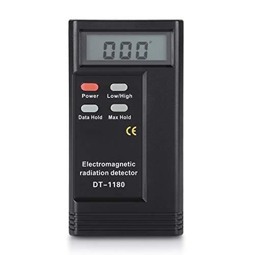 WAQU Detector de radiación electromagnética, Detector de Gauss de Campo magnético eléctrico de frecuencia Dual, medidor de radiación electromagnética