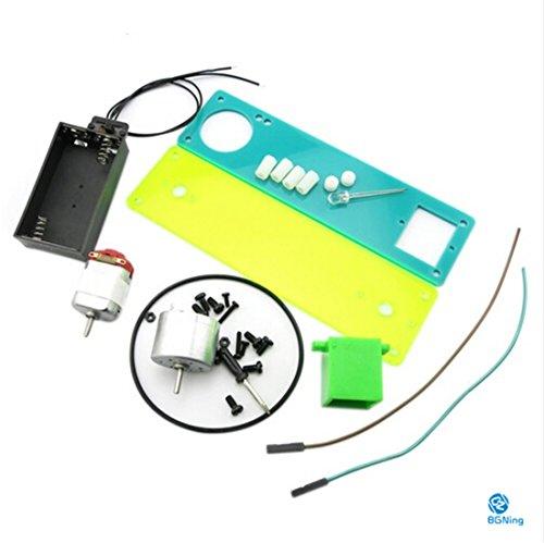 Z-Standby Driveline Générateur Set Jouets éducatifs Assemblée production Petit Popular Science Modèle DIY Toy