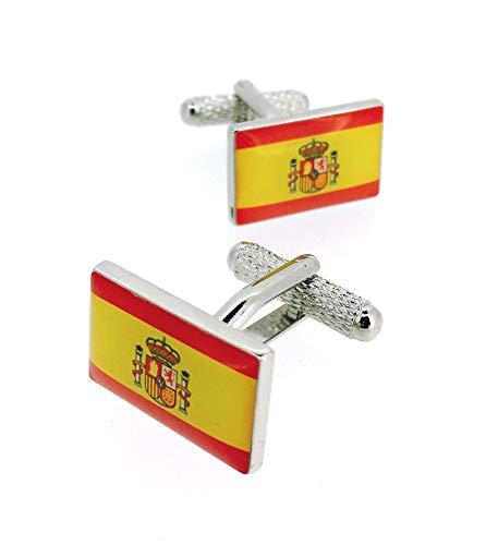 Gemelos para Camisa Bandera España Escudo