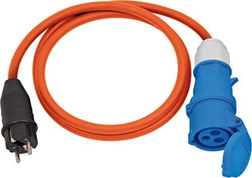 Brennenstuhl Cable adaptador CEE con enchufe de protección de contacto