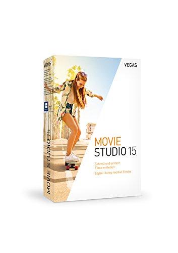 VEGAS Movie Studio|15|1 Device|1 Year|PC|Disc|Disc