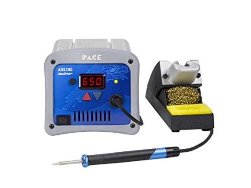 PACE ADS200 AccuDrive High Powered Soldering Station with TD-200 Tip-Heater Cartridge Iron (Tips NOT Included)