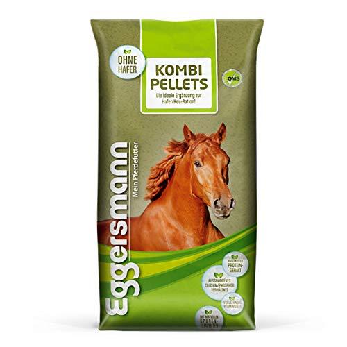 Eggersmann Kombi Pellets 10 mm – Pferdefutter als Ergänzung zu Einer einseitigen Haferfütterung – 25 kg Sack