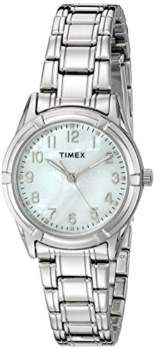 Timex Women's TW2P76000 Easton Avenue Silver-Tone Stainless Steel Bracelet Watch