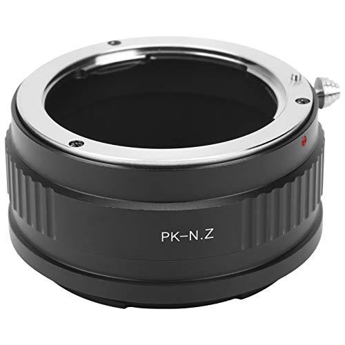 Adattatore per Anello di Montaggio Dell'obiettivo PK ‑ N.Z Anello Adattatore per Obiettivo con Attacco Pentax PK per Fotocamera con Attacco Z Nikon