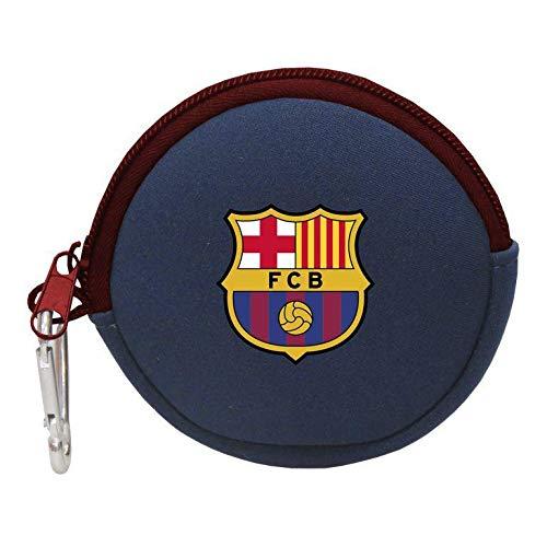 FCB FC Barcelona Redondo Neopreno Monedero Tiempo Libre y Sportwear, Adultos Unisex,...