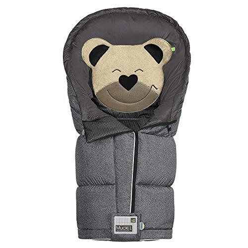 Odenwälder BabyNest Fußsack Mucki L fashion | 12284-1079 | passend für alle Kinderwagen und Buggy | new woven titan