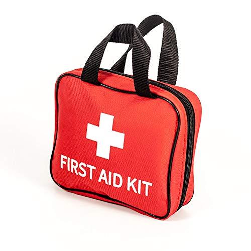 BRAZT Multifunktionale Erste-Hilfe-Kit, 3 Artikel 130 Stück Kleine Rettungs-Taschen, EIS (kalt) Packung Bandagen Trauma-Medizin-Speicher für Auto-Haus im Freien
