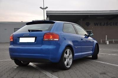 Audi A3 8p Roof Spoiler S3 Saloon S Line New Keeley Waltrip004