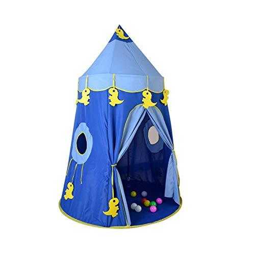 Zhicaikeji Los Niños Juegan Carpa Tienda Infantil portátil Niños Tienda de campaña Bebé Play Play Princess Castle Muchacha al Aire Libre Interior Juguetes niños Jugar Tienda para Interior y Exterior