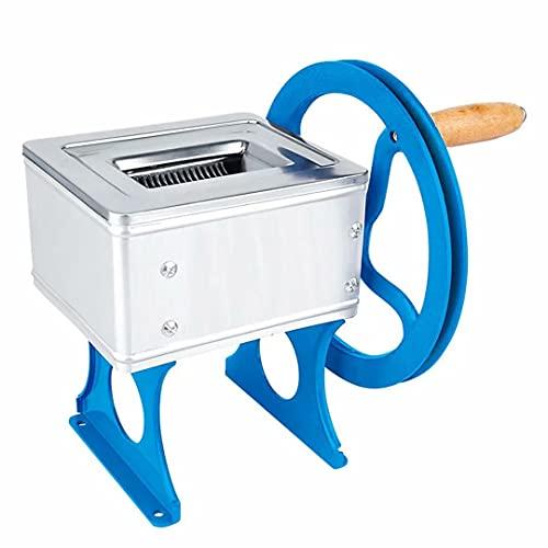 Picadora de Carne Manual para el hogar Mezclador de Carne de manivela Manual de Acero Inoxidable Cortador de Verduras para Alimentos Adecuado para la Familia Bar Restaurante