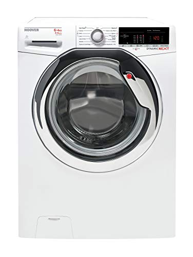 Hoover WDXOA40464AHC-01 Front-load Freestanding White A - Washer Dryers (Front-load, Freestanding, White, Left, Rotary, Touch, Stainless steel)