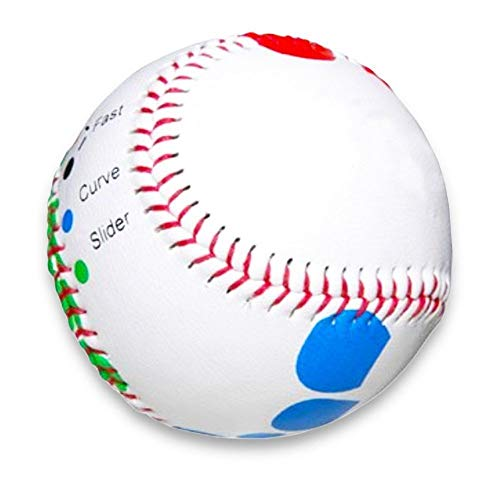 Baseball Pitching Trainer Kit -- Pitch Training Baseball with Detailed Grip Instructions by Baseball Pitching Trainer