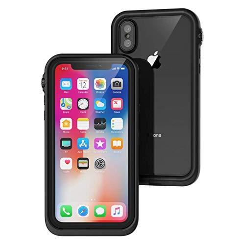 Catalyst iPhone X Hülle - Wasserdicht und mit Fallschutz für Apple iPhone X (schwarz) Nicht kompatibel mit iPhone Xs