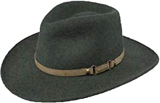 Monument Wool Cowboy Hat, Olive Mix, Large