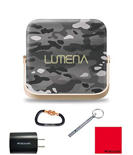 [正規品] ルーメナー7 LUMENA7 LEDランタン ルーメナー LUMENA [コンパクト/充電式/キャンプ/アウトドア/モバイルバッテリー/1300ルーメン/セット品] (迷彩グレー)