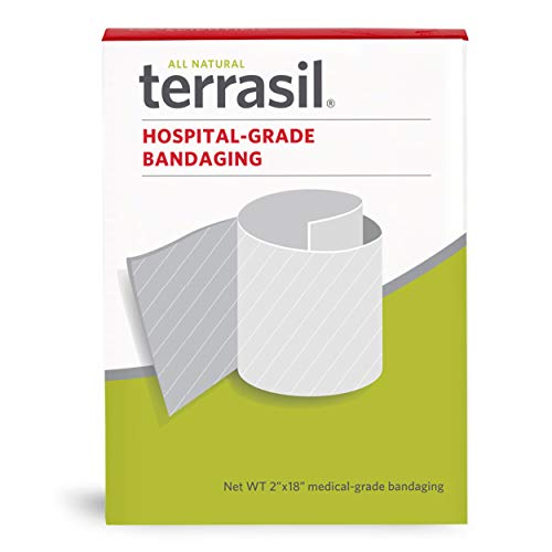 Hospital-Grade Bandaging Tape Self Adhesive for Wound Protection and Healing by Terrasil - 2 x 18