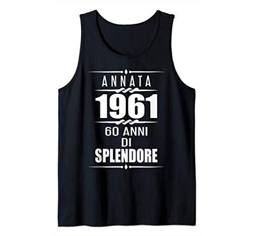 60 esimo compleanno 1961 60 ans regalo 60 anni compleanno Canotta