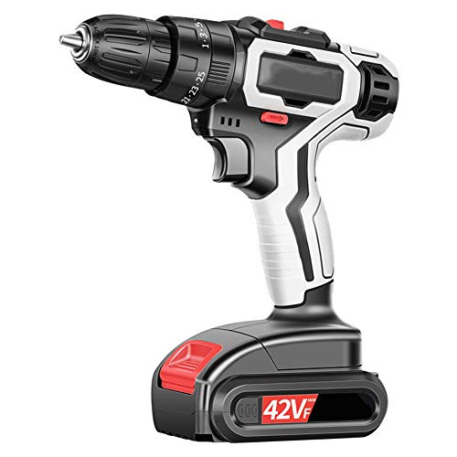 Cordless Drill Driver, 21V 80Nm of...