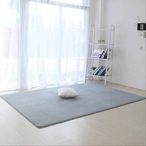 axnx Teppiche Verdickte rutschfeste Teppich Wohnzimmer Pad Couchtisch Decke Schlafzimmer Kissen Nacht Yoga Matte 50 cm X 120 cm 6