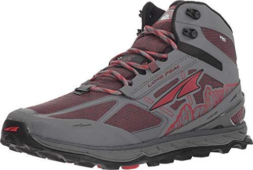 Altra Men's Lone Peak 4 Mid RSM Waterproof Trail Running Shoe, Gray - 12.5 D(M) US