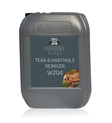 Holzreiniger Teak Hartholz Holzschutz Vorreiniger Holzpflege W204-5L