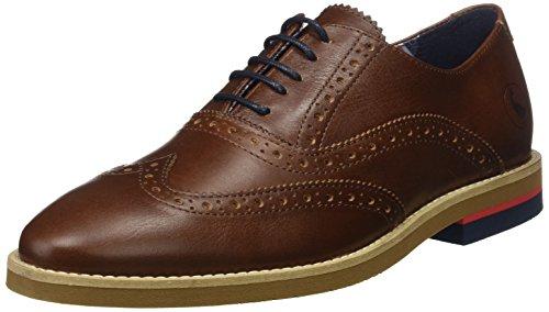 El Ganso M Piel, Zapatos de Cordones Oxford Hombre, Marrón (Marrón), 40 EU