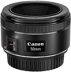 Canon EF 50mm f/1.8 STM - Objetivo, Negro