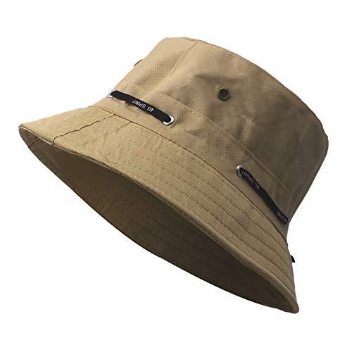 XGao Fishing Hats for Men Spring Autumn Outdoor Tourism Mountaineering Hat Korean Version of The Light Bucket Boonie Cap Adjustable Fishing Fisherman Caps Bucket Hat Bucket Hats for Men