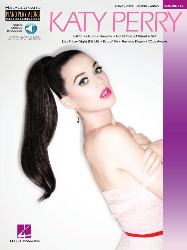 Katy Perry Songbook: Piano Play-Along Volume 125 (English Edition)