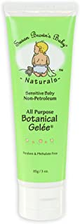 Susan Brown's Baby - Botanical Gelee - Natural Emollient - 3 oz. - Safe Alternative to Petroleum Jelly, Gentle Skin Therapy Treatment, Seals Out Wetness