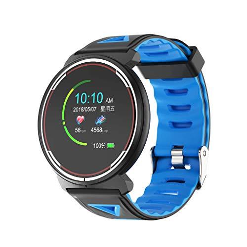 Unisex Sportuhr – Erwachsene Smartwatch,Fitness Tracker GPS Sportuhr Schrittzähler Pulsmesser,Pulsuhr, mit Brustgurt, Trainingsbereich, Kalorienverbrauch, Fettverbrennung