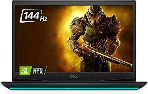Dell G5 15 Gaming Laptop 15.6' FHD 144Hz Display(2021 Newest), 10th Gen Intel Core i7-10750H, NVIDIA GeForce RTX 2070 8GB GDDR6, 16GB DDR4 RAM, 512GB PCIe SSD, Killer Wi-Fi 6,Win10,Black+Oydisen Cloth