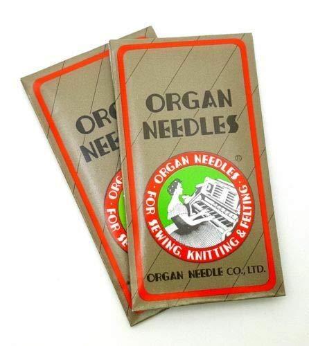 Buy MACOSKI Supplies for 20 Organ Stretch Elastic HS Flat Shank Home Sewing Needles HAX1 130705H DIY...