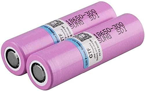 3000mAh 3.7V para INR 18650 Samsung INR 18650 ANR 30Q 20A batería de Litio Recargable para-2pcs
