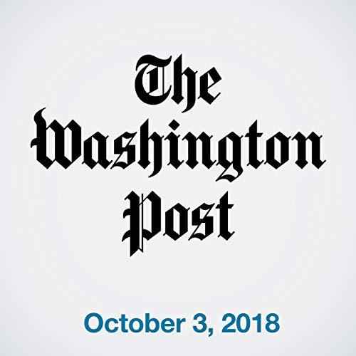 October 3, 2018 copertina