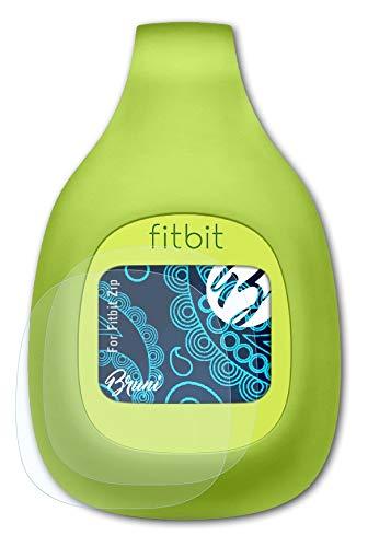 Bruni Schutzfolie kompatibel mit Fitbit Zip Folie, glasklare Bildschirmschutzfolie (2X)