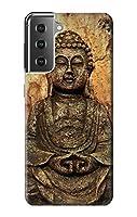 JP034421P 仏岩彫刻 Buddha Rock Carving Samsung Galaxy S21 Plus 5G, Galaxy S21+ 5G ケース