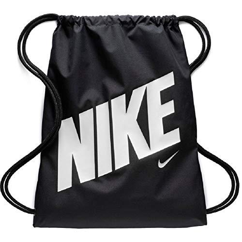Nike Allover Print KIDS Gymbag Gymsack (one size, black/white)