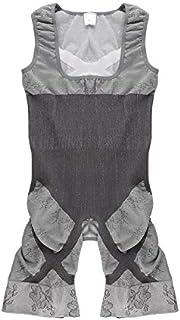 CamKpell 1pc Bodysuit Women Charcoal Sculpting Underwear Bamboo Dimagrimento Abiti Shapewear Vita Allenatore Corsetti Vita...