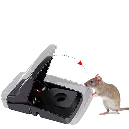 Mouse Trap,Best Small Mouse &Traps That Work,Mice Traps Snap and Indoor Trap with Detachable Bait Cup,Effective and Sanitary Safe Better Mouse Catcher