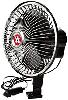 Mini Ventiladores Preto 12 Volts 6 Polegadas 15 Cm Uso Geral
