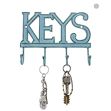 "Key Holder ""Keys"" – Wall Mounted Western Key Holder 