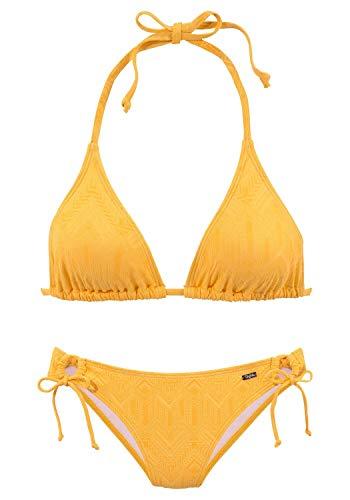 Buffalo Damen Bikini gelb 42 (XL-XXL) C/D